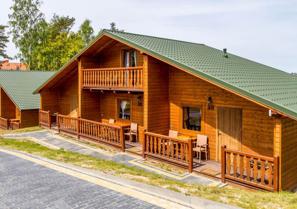 Komfortowe domki blisko morza - 6-osobowe - Morska Osada